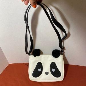Target girls crossbody bag, panda bear